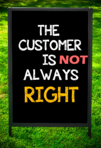 customer is not always right essay